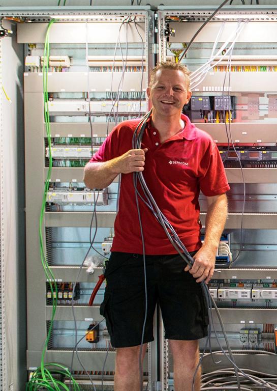 Dennis Schra - monteur meet-en regeltechniek/industriële automatisering