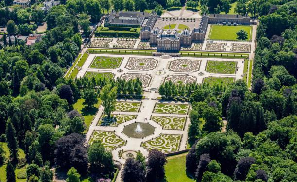 Besturing van tuin paleis 't loo - Apeldoorn
