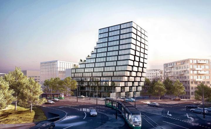 Eengineering en besturing Terrace Tower - Amsterdam