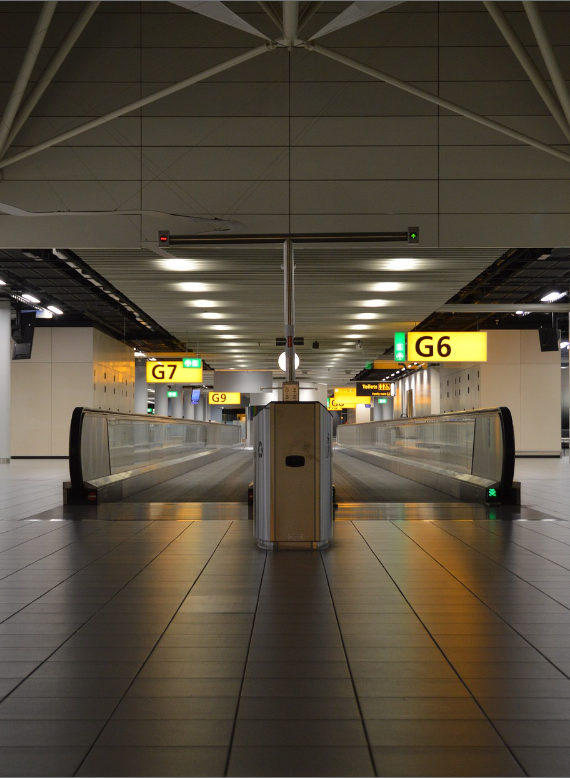 Klimatiseren van terminals en pieren - Schiphol
